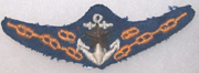 Japanese Army Landing Craft Operators Badge