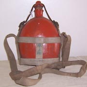 WWII Japanese Army Enlisted Canteen & Carrier
