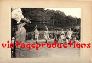 WWII Japanese Propaganda Photo Of Fall Of Singapore.