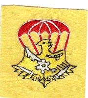 Airborne Support Battalion Maintenance Company Patch SVN ARVN
