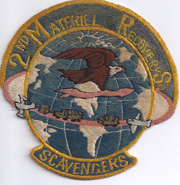 2nd Material Recovery Squadron Patch