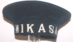 Russo-Japanese War Mikasa Naval Flat Type Hat