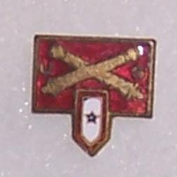 Artillery Son In Service Patriotic / Sweetheart Pin