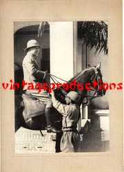 WWII Japanese Propaganda Photo Of Army Father & Son