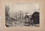 WWII Japanese Propaganda Photo Of Battle Of Philippines Baranga Island.