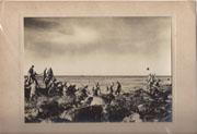 WWII Japanese Propaganda Photo Of Troops Landing On Corrigedor.