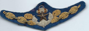 Japanese Army Landing Craft Operators Bullion Qualification Patch