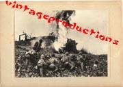 WWII Japanese Propaganda Photo Of Flame Throwers