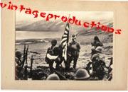 WWII Japanese Propaganda Photo Of Aleutian Islands Victory