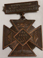 156th Infantry Regiment NYSV Mountain Region Medal / Badge