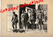 WWII Japanese Propaganda Photo Of Fall Of Hong Kong