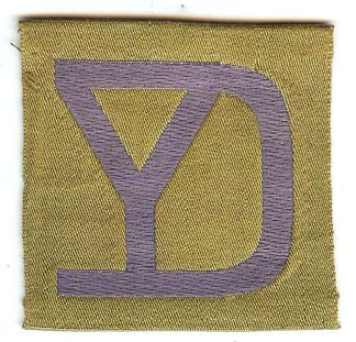 26th Division Liberty Loan Patch