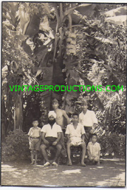 WWII Japanese Army Tropical Setting Of Two Soldiers & A Sikh Photo