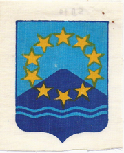 10th Division 1st Style Patch SVN ARVN