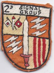 2nd Signal Group Pocket Patch Vietnam
