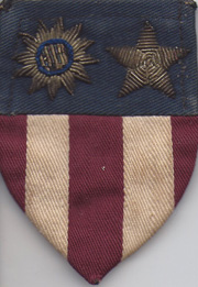 ASMIC WWII Theatre Made CBI Shoulder Patch