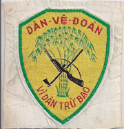Vietnam Early Rural Cadre Patch