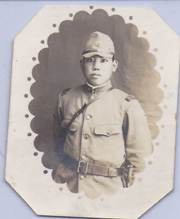 WWII Japanese Army Enlisted Soldier Photo