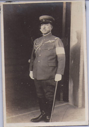WWII or Earlier Japanese Army High Ranking Officer Photo