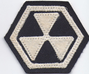 South Korean Army 6th Corps Patch.