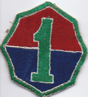 1st Army Patch