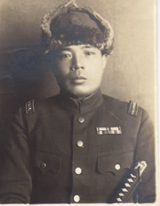 WWII Era Japanese Army China Front Officer Photo