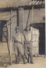 WWII Japanese Army NCO's In China Photo