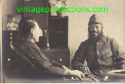 WWII Japanese Army China Front Bearded Soldier Photo