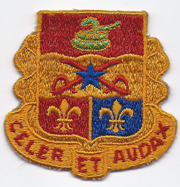 1950's- 1960's 6th Artillery Pocket Patch