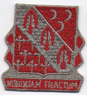 1950's- 1960's 7th Artillery Pocket Patch