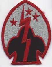 107th Regimental Combat Team Patch