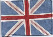 British Multi-Piece Construction Flag Patch