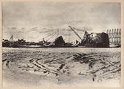 WWII Japanese Propaganda Photo Of Battle Of Wake Island