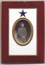 Son In Service Enamelled Picture Frame
