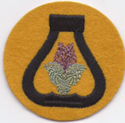 WWII 21st Cavalry Division Patch