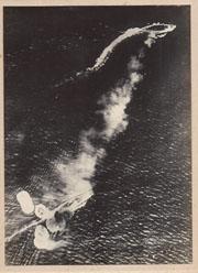 WWII Japanese Propaganda Photo Of Attacking British Battleship