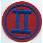 2nd Corps South Korean Army Patch