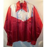 1940's-50's Western Style Silk Tour Shirt / Jacket