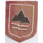 22nd Division Hand Embroidered Patch SVN ARVN