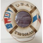 Army Transport Ship Thomas Pre-WWI Wall Hanger