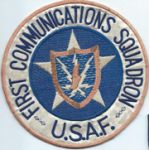 1st Communications Squadron Patch