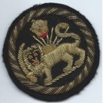 ASMIC Mission To Iran 1st Pattern Bullion Patch