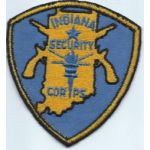 Indiana Security Corps Patch