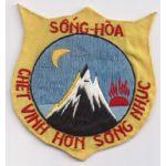 Song Hoa Province PRU Patch Vietnam