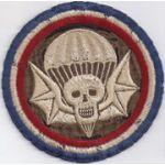 ASMIC WWII English Made 502nd PIR Pocket Patch