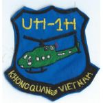 UH-1H Helicopter Squadron Patch SVN ARVN