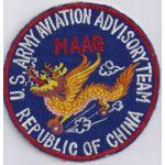 Army Aviation Advisory Team MAAG Formosa / Taiwan Pocket Patch Vietnam