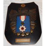 Japanese Order Of Rising Sun 4th Class Medal In Yasakuni Shrine Frame