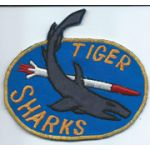 192nd Aviation TIGER SHARKS Pocket Patch Vietnam