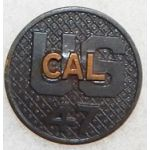 47th California Enlisted Collar Disk